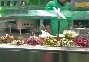 PS falafel counter copy