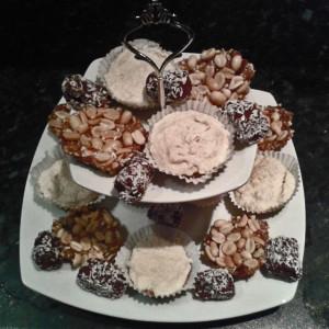 Cake stand birdseye