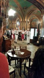 Dancing Romanian stylee!